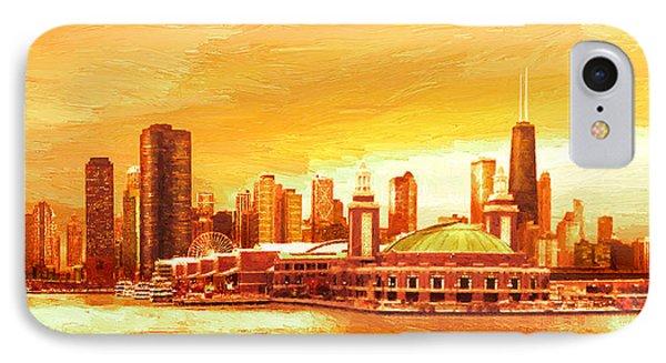 Navy Pier Chicago --autumn IPhone Case