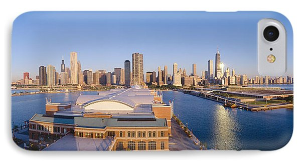 Navy Pier, Chicago, Morning, Illinois IPhone Case