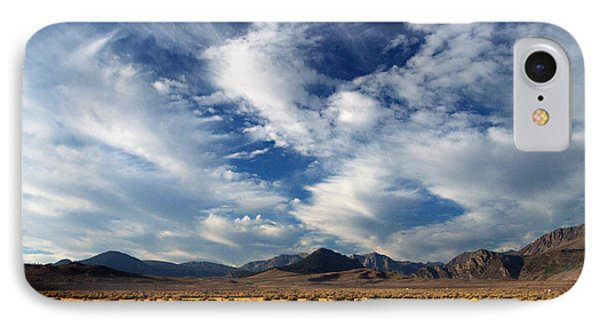 Near The Intersection Of God And The Eastern Sierras IPhone Case