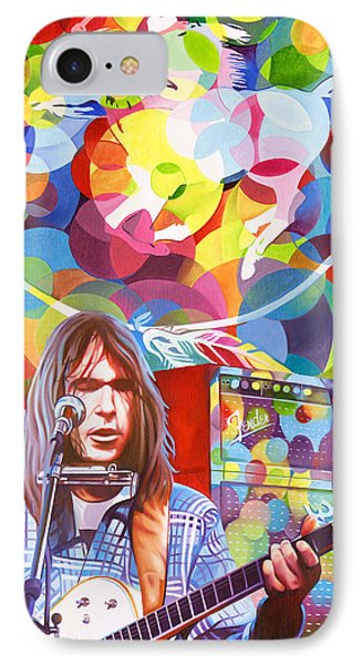 Neil Young-crazy Horse IPhone Case
