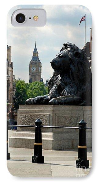 Nelson's Lion IPhone Case