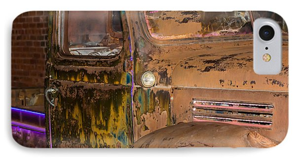Neon And Rust IPhone Case