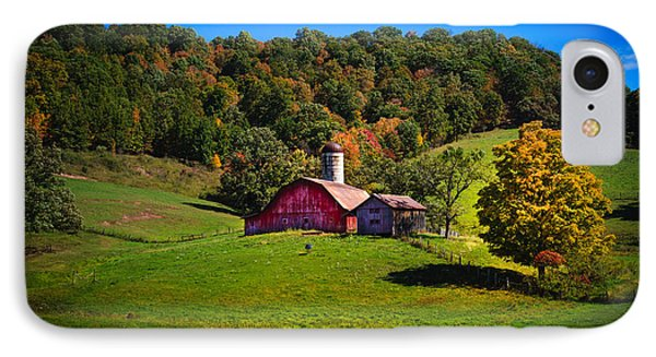 nestled in the hills of West Virginia IPhone Case