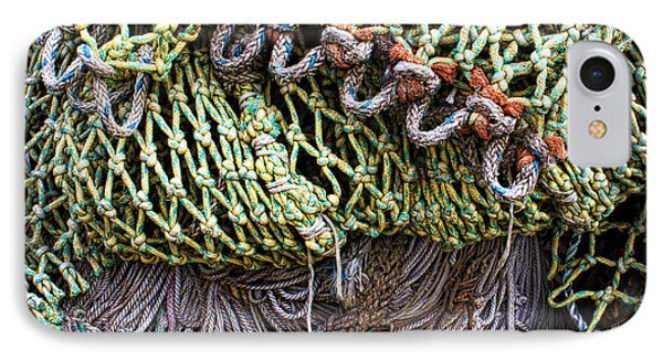 Nets And Knots Number Three IPhone Case