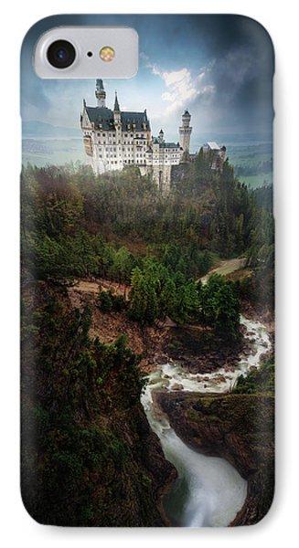 Castle iPhone 8 Case - Neuschwanstein. by Juan Pablo De