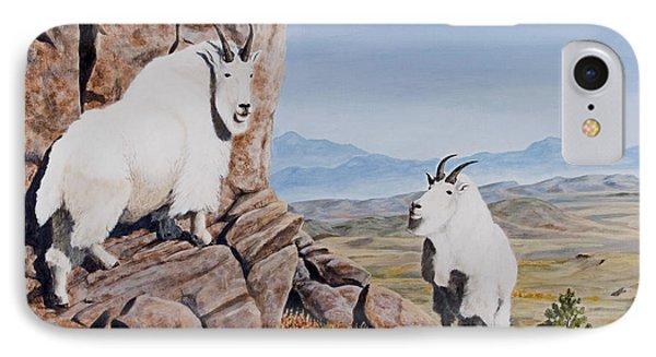 Nevada Mountain Goats IPhone Case
