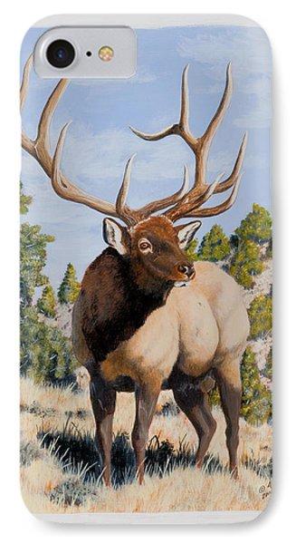Nevada Typical Elk IPhone Case