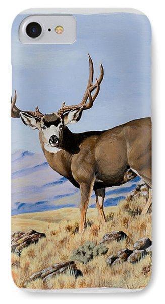 Nevada Typical Mule Deer IPhone Case