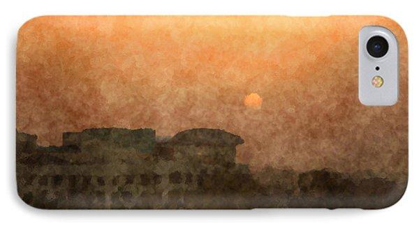 New Delhi Sunset IPhone Case