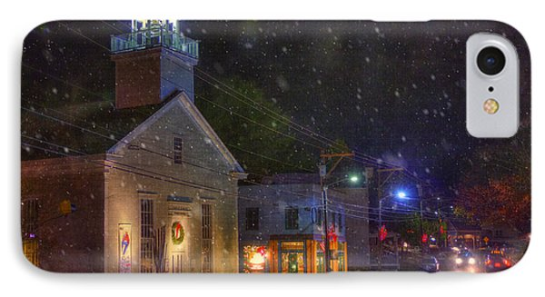 New England Winter - Stowe Vermont IPhone Case