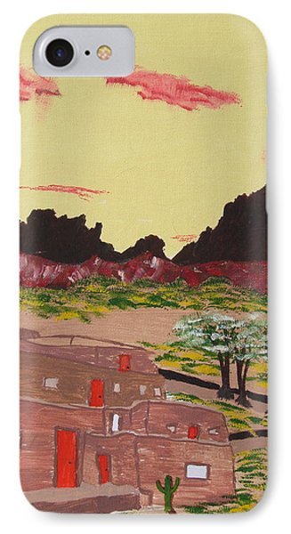 New Mexico Adobe Home IPhone Case