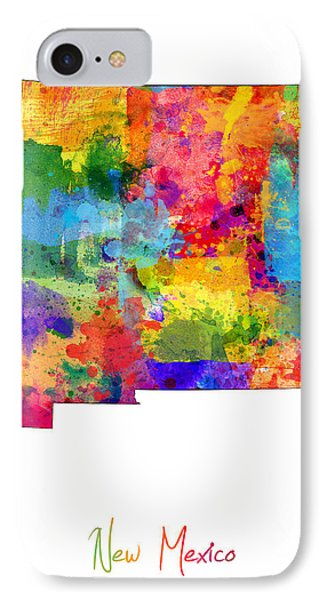 New Mexico Map IPhone Case