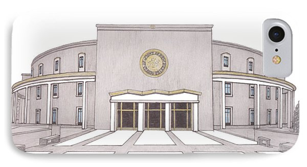 New Mexico State Capitol IPhone Case
