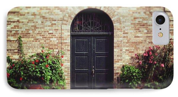New Orleans Courtyard Door IPhone Case
