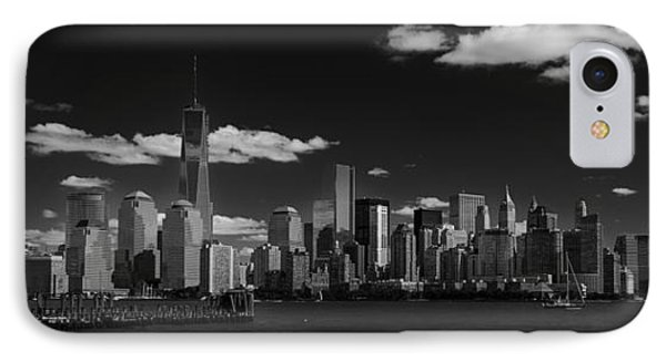New York 1 Black And White IPhone Case
