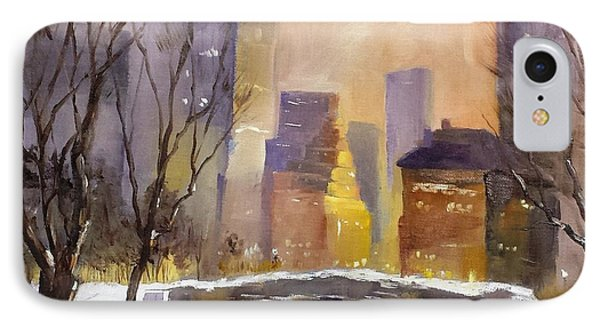 New York Central Park IPhone Case