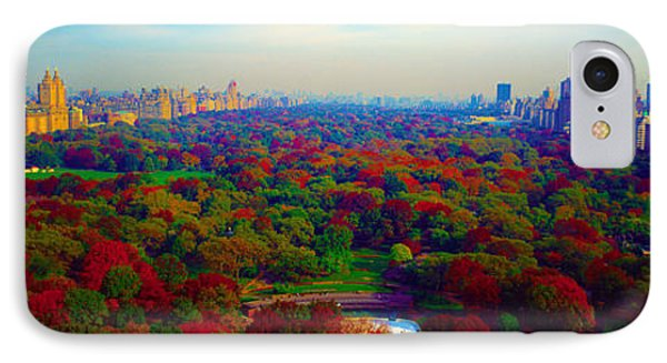 New York City Central Park South IPhone Case