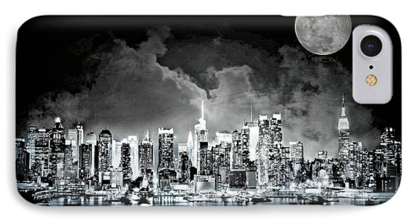 New York City Night Lights IPhone Case