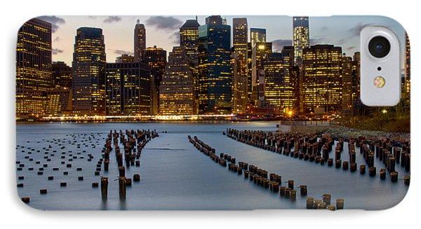 New York City Skyline From Brooklyn IPhone Case