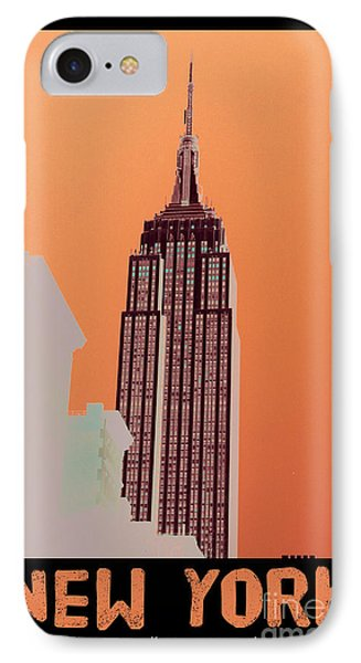 New York Coordinates IPhone Case