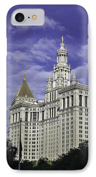New York Municipal Building IPhone Case