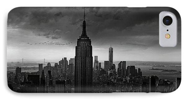 New York Rockefeller View IPhone Case