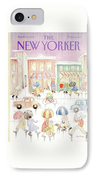 New Yorker April 16th, 1984 IPhone Case