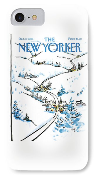 New Yorker December 8th, 1986 IPhone Case