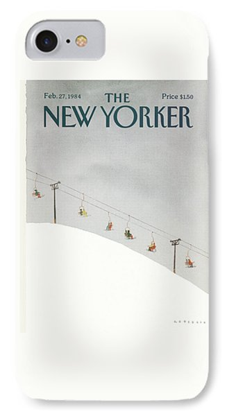 New Yorker February 27th, 1984 IPhone Case