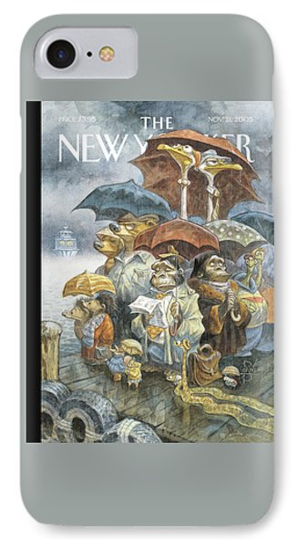 New Yorker November 21st, 2005 IPhone Case