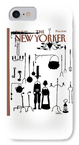 New Yorker November 29th, 1982 IPhone Case