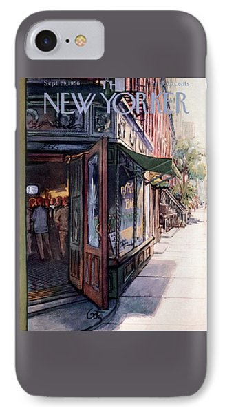 New Yorker September 29th, 1956 IPhone Case
