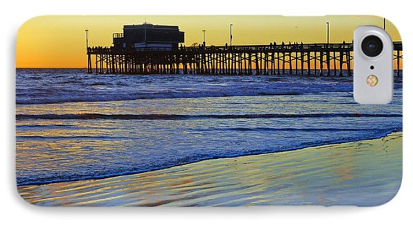 Newport Pier South Side IPhone Case