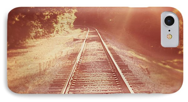 Train iPhone 8 Case - Next Stop Home by Amy Tyler