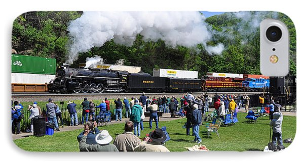 Nickel Plate Berkshire At Horseshoe Curve IPhone Case
