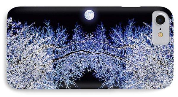 Night Blooms IPhone Case