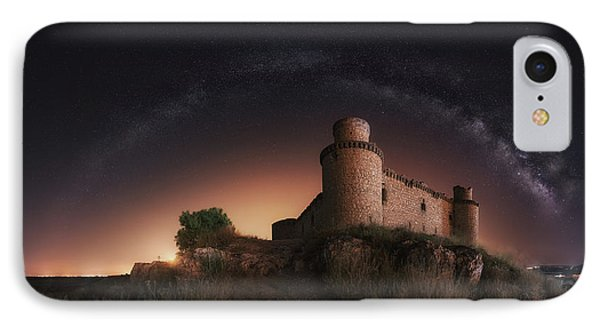 Castle iPhone 8 Case - Night In The Old Castle by Iv?n Ferrero