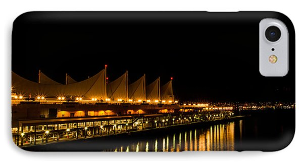 Night Lights On The Waterfront IPhone Case