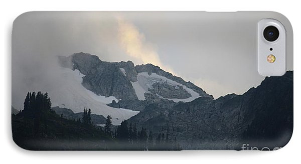 Night On Cougar Mountain Series Iv IPhone Case