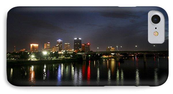 Night On The Junction Bridge IPhone Case