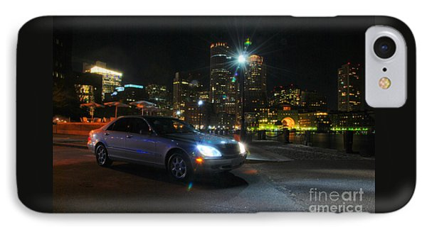 Night Out In Boston IPhone Case