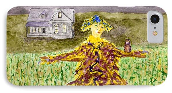 Night Owl Scarecrow IPhone Case