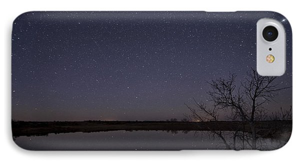 Night Sky Reflection IPhone Case