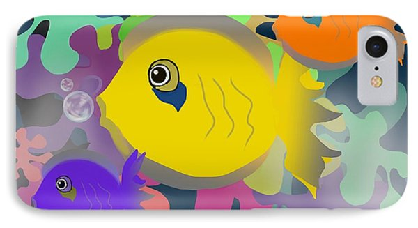 Night Swimming IPhone Case