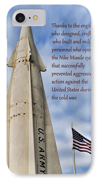 Nike Missile Thanks IPhone Case