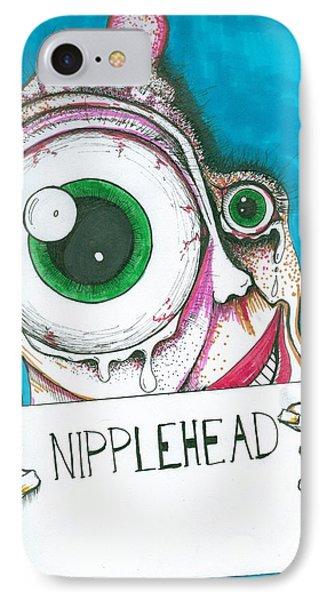 Nipple Head IPhone Case