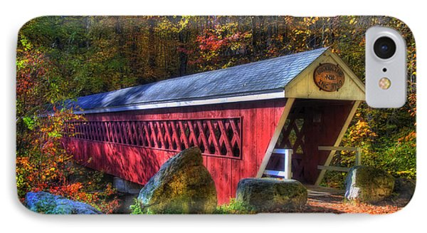 Nissitissit Bridge Brookline Nh IPhone Case