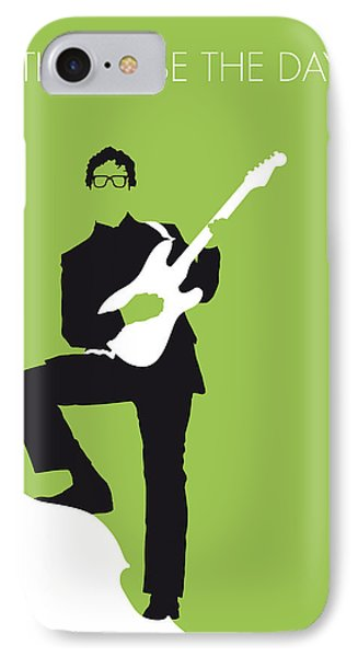 Rock And Roll iPhone 8 Case - No056 My Buddy Holly Minimal Music Poster by Chungkong Art