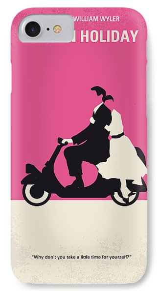 No205 My Roman Holiday Minimal Movie Poster IPhone Case