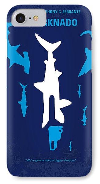 No216 My Sharknado Minimal Movie Poster IPhone Case